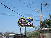 USA - Mitchell IL - Luna Cafe Sign (11 Apr 2009)